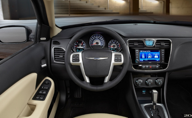 2021 Chrysler 200 Interior