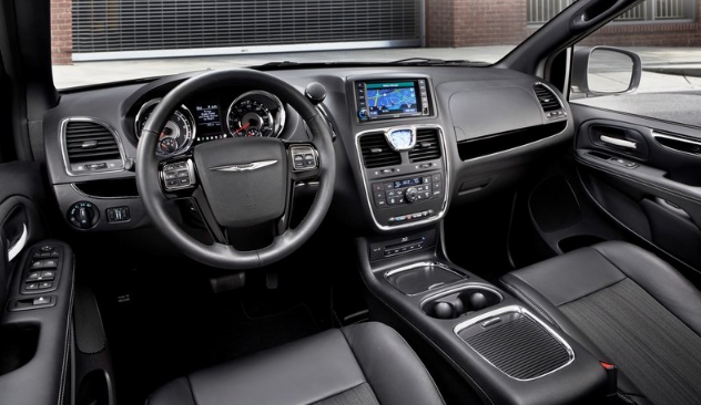 2021 Chrysler Town & Country Interior