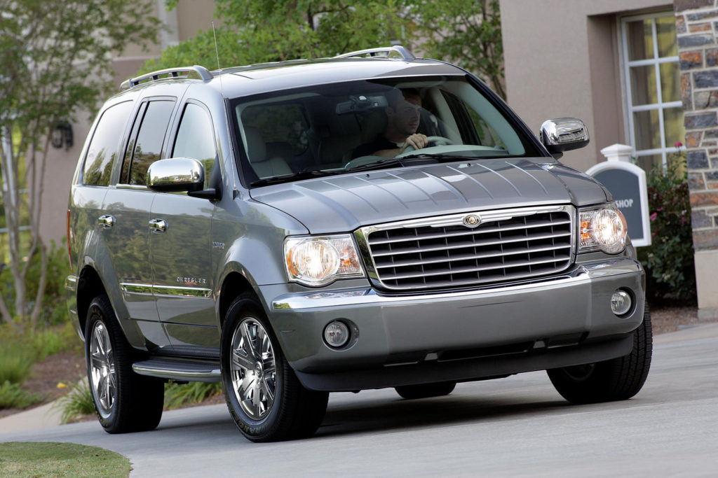 2009 Chrysler Aspen Hybrid Review Trims Specs Price