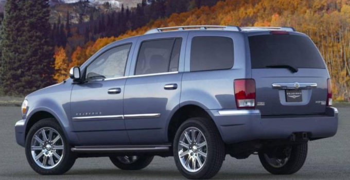 2021 Chrysler Aspen Redesign SUV Models