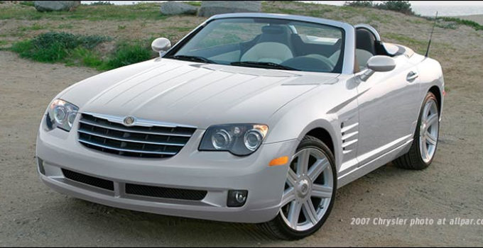 Chrysler Crossfire And SRT 6 The Retuned Mercedes SL