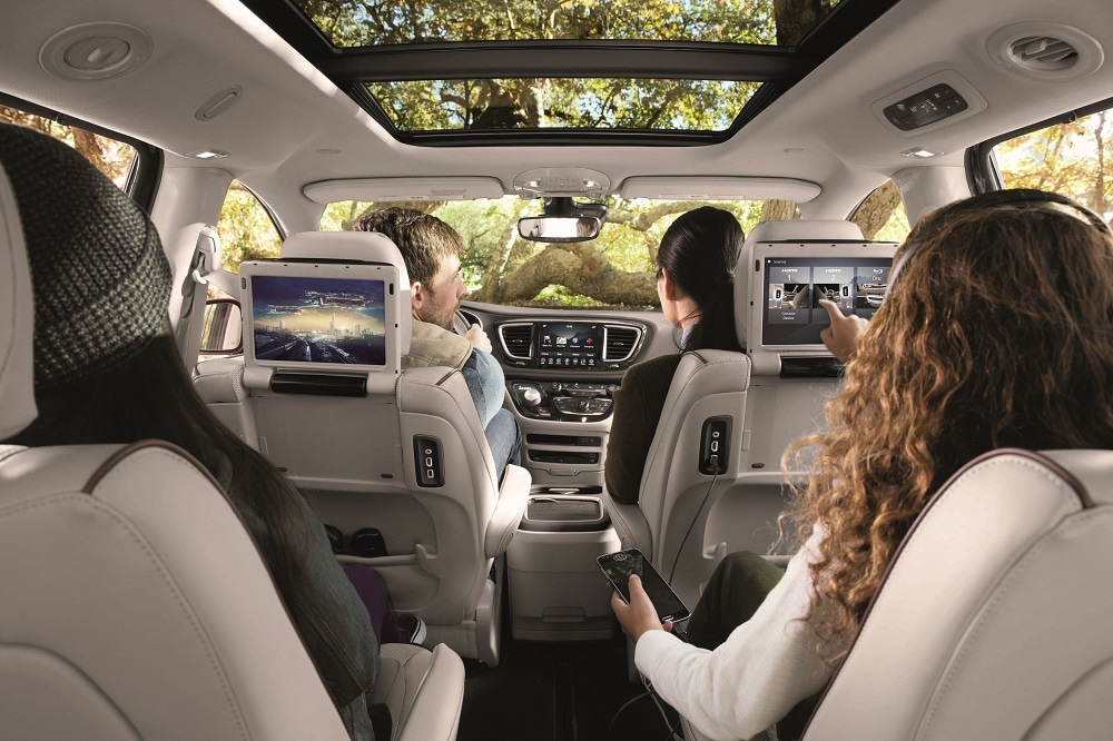 Chrysler Pacifica Interior Review Cargo Space