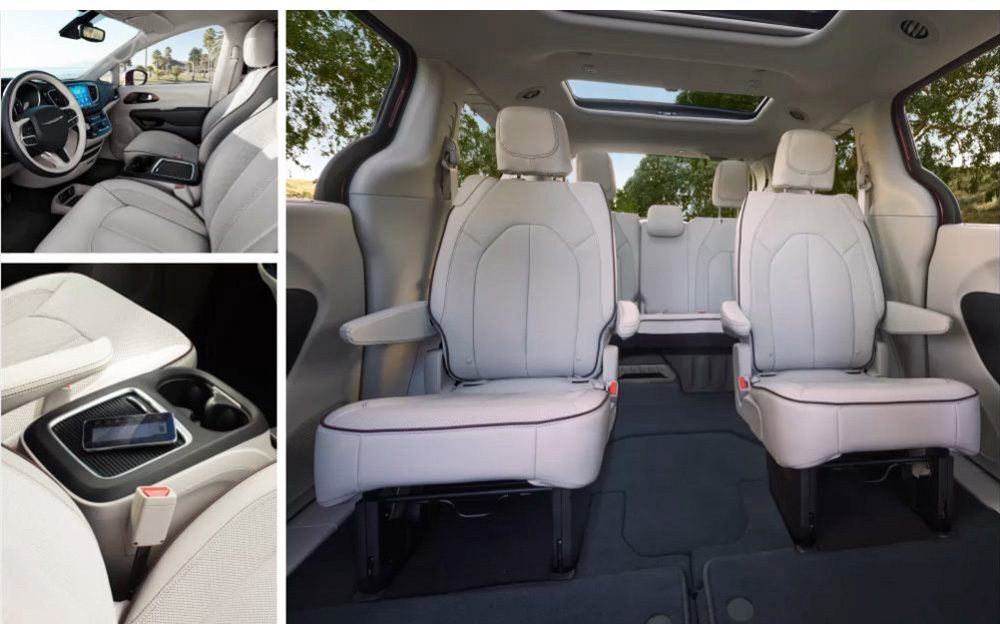 Chrysler Pacifica Hybrid Interior Dimensions Bruin Blog