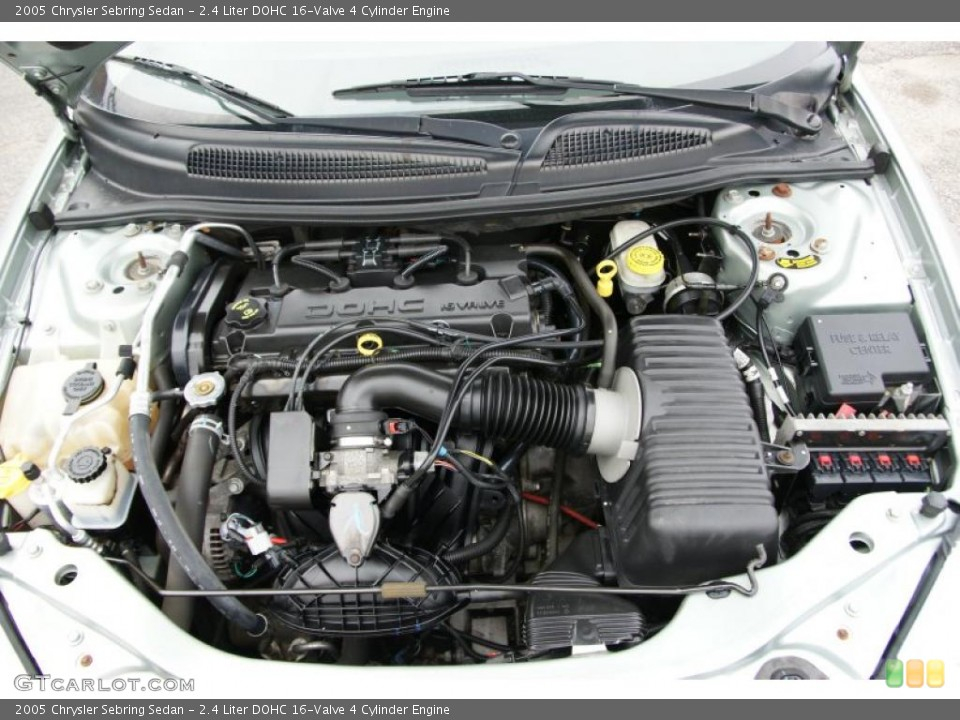 2 4 Liter DOHC 16 Valve 4 Cylinder Engine For The 2005