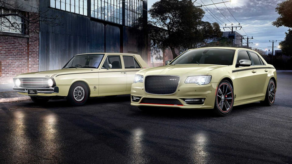 Chrysler Valiant Returns As Aussie Special Edition 300 SRT