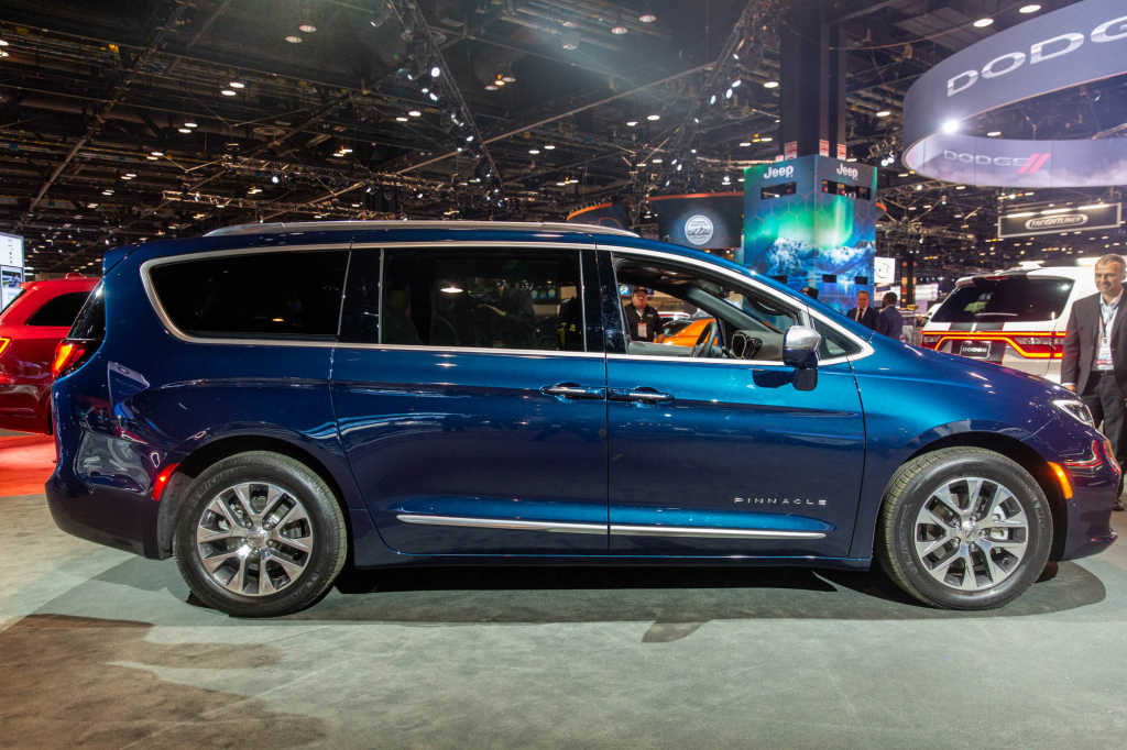 2022 Chrysler Pacifica Engine US Newest Cars