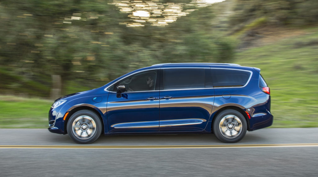 2018 Chrysler Pacifica Hybrid Review Ratings Specs