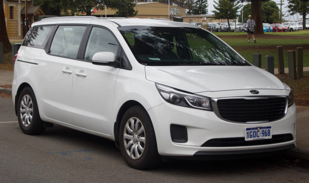 2022 Kia Sedona White Concept Specifications Release