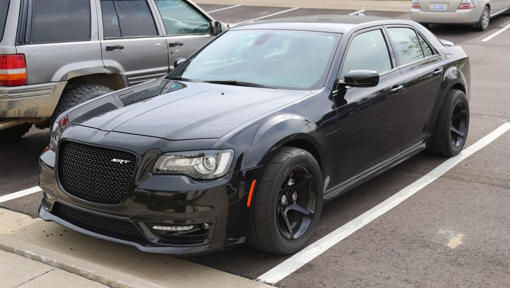 Chrysler 300 SRT Demon 2018 Spy Shots Car News CarsGuide