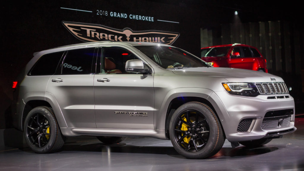 The Hellcat Powered 2018 Jeep Trackhawk Is Quicker 0 60