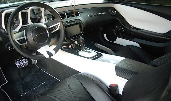 5th Gen Camaro Painted Interior Panel Inserts
