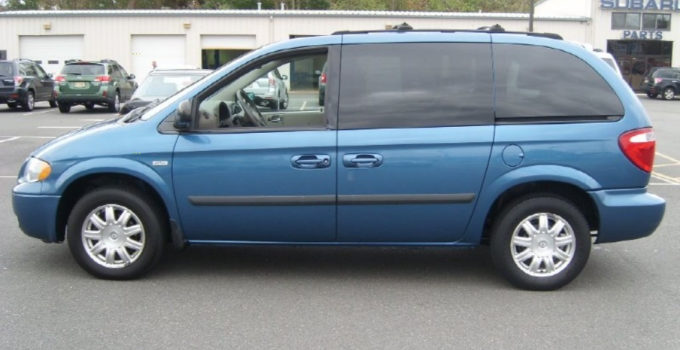Atlantic Blue Pearl 2005 Chrysler Town Country Touring