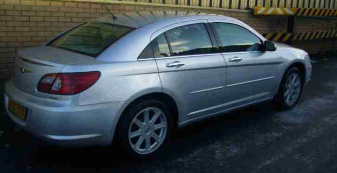 Chrysler SEBRING 2 0 DIESEL CRD VW ENGINE LIMITED 6
