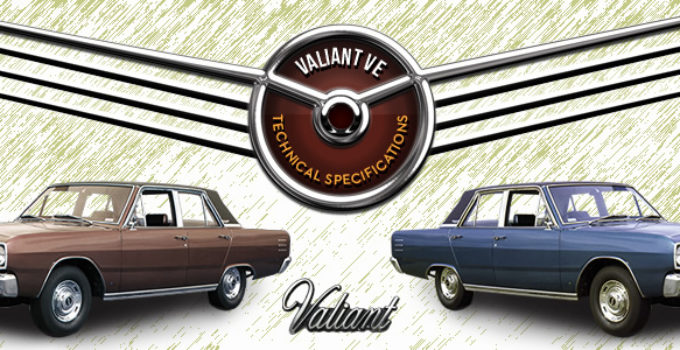 Valiant VE Specifications