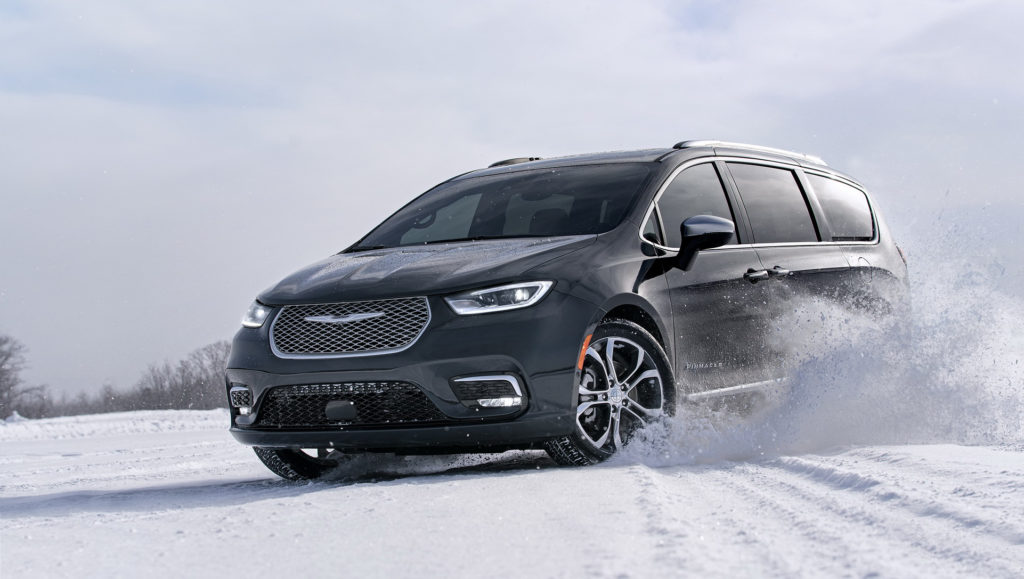 2021 Chrysler Pacifica Adds AWD And A Redesign Debuts In