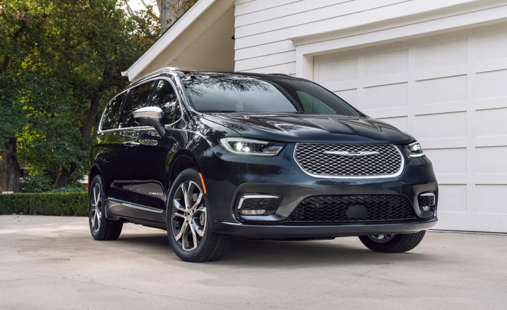 2021 Chrysler Pacifica Adds All Wheel Drive More