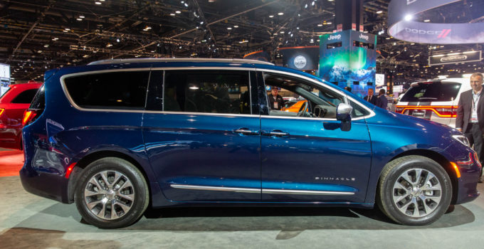2021 Chrysler Auto Pacifica Arrives With All wheel Drive