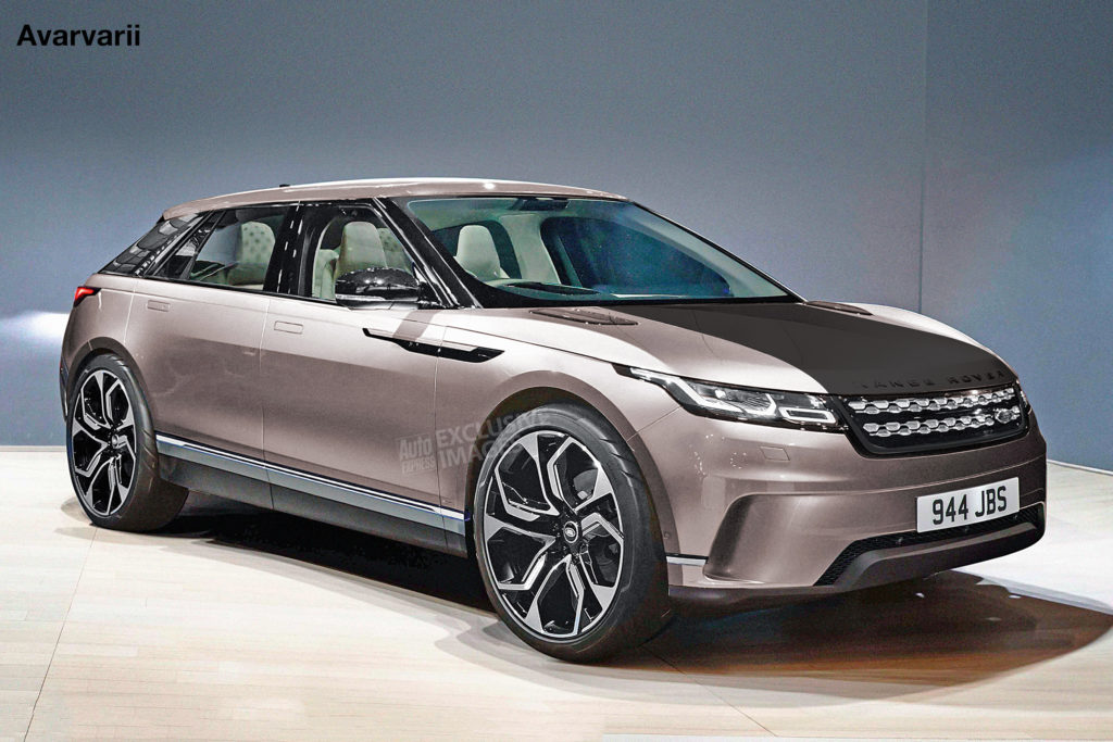 New 2021 Range Rover Crossover To Arrive With All electric