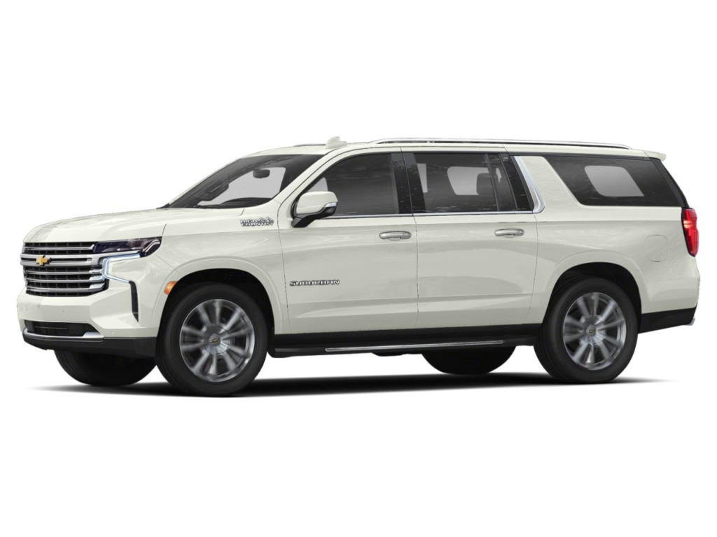 New 2021 Chevrolet Suburban 2WD High Country In Iridescent