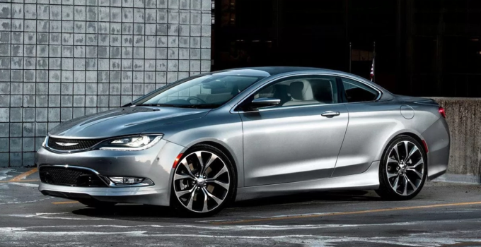 2019 Chrysler 200 Convertible Srt Picture Release Date