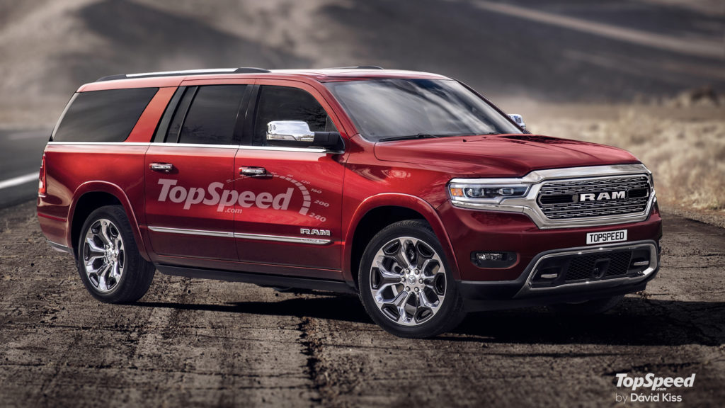 2020 RAM Ramcharger Top Speed