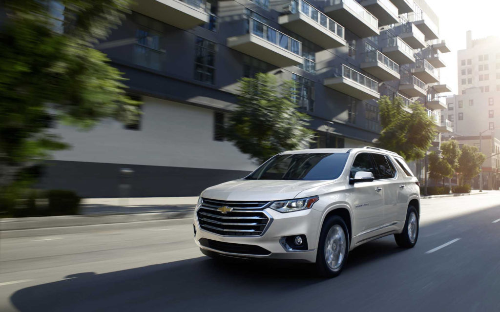 2021 Chevrolet Traverse Chevy Review Ratings Specs