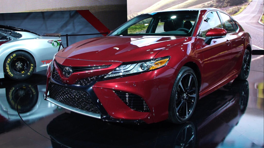 2018 Toyota Camry Se News Reviews Msrp Ratings With