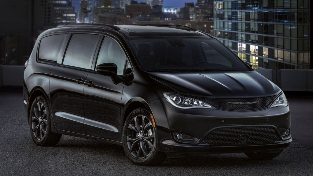 2018 Chrysler Pacifica S Appearance Package Pictures