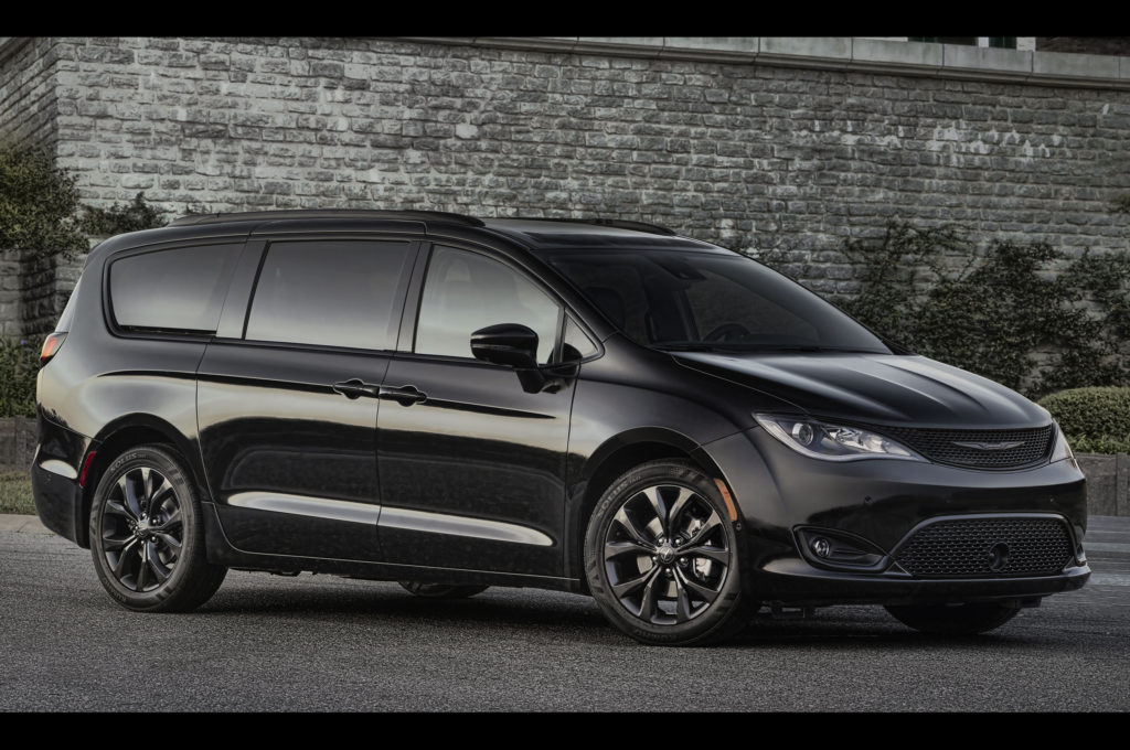 2018 Chrysler Pacifica Adds S Appearance Package