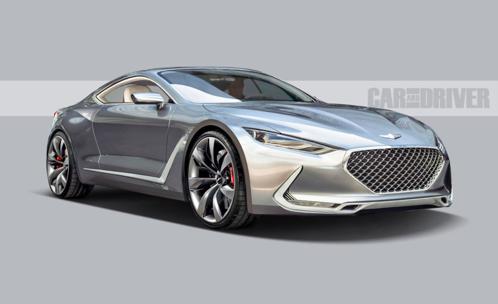 2021 Genesis GT90 A Top Tier Coupe To Steer The Brand