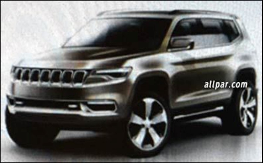 2017 Jeep C SUV To Drop CUSW Platform Share Styling With