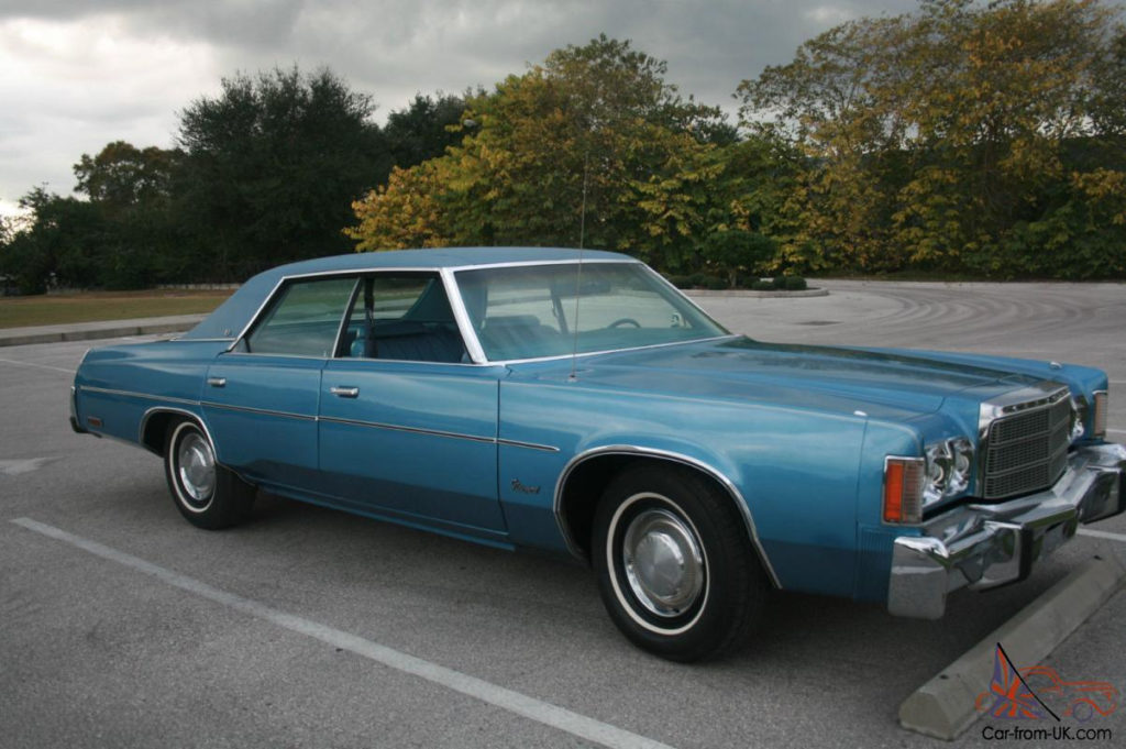 1978 CHRYSLER NEWPORT IMPERIAL NEW YORKER DODGE PLYMOUTH