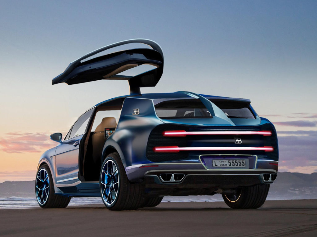 Get Ready For A Hyper SUV Based On The Bugatti Chiron