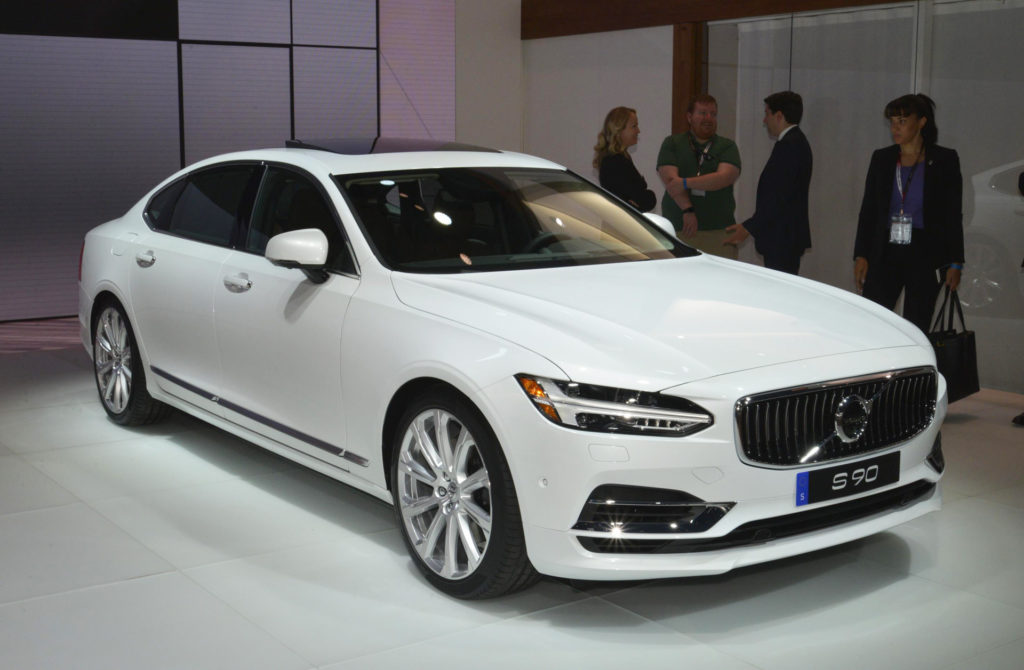 The 2018 Volvo S90 Boasts A Back Seat Fit For A King