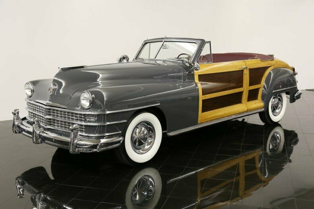 Town Country Fluid Drive Automatic Convertible For Sale