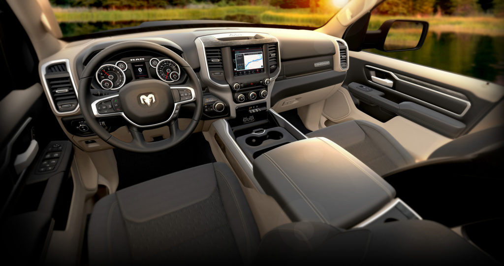 2019 Ram 1500 Big Horn Black Frost Interior Autoinfoquest