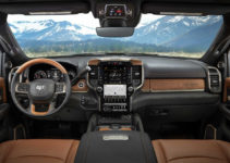 2019 Ram HD Laramie Longhorn Features Real Wood Leather