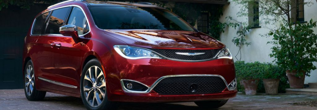 2018 Chrysler Pacifica Exterior Color Options