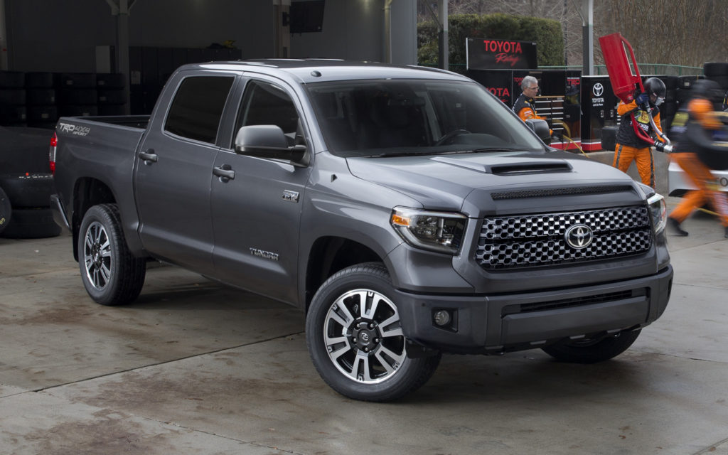 2018 Toyota Tundra TRD Sport CrewMax Wallpapers And HD