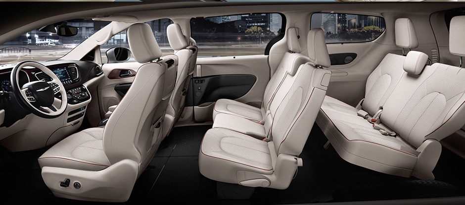 2017 Chrysler Pacifica Cargo And Passenger Space