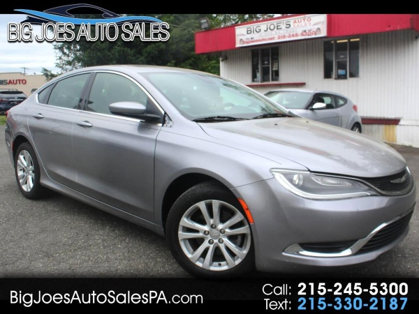 2015 Chrysler 200 Limited FWD For Sale In Trevose PA