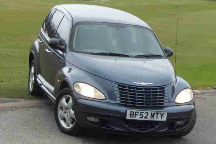 Chrysler 2002 PT CRUISER TOURING BLUE 1 DAY NO RESERVE