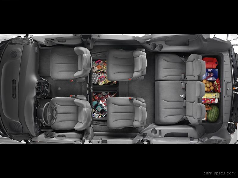 2005 Chrysler Town And Country Minivan Specifications