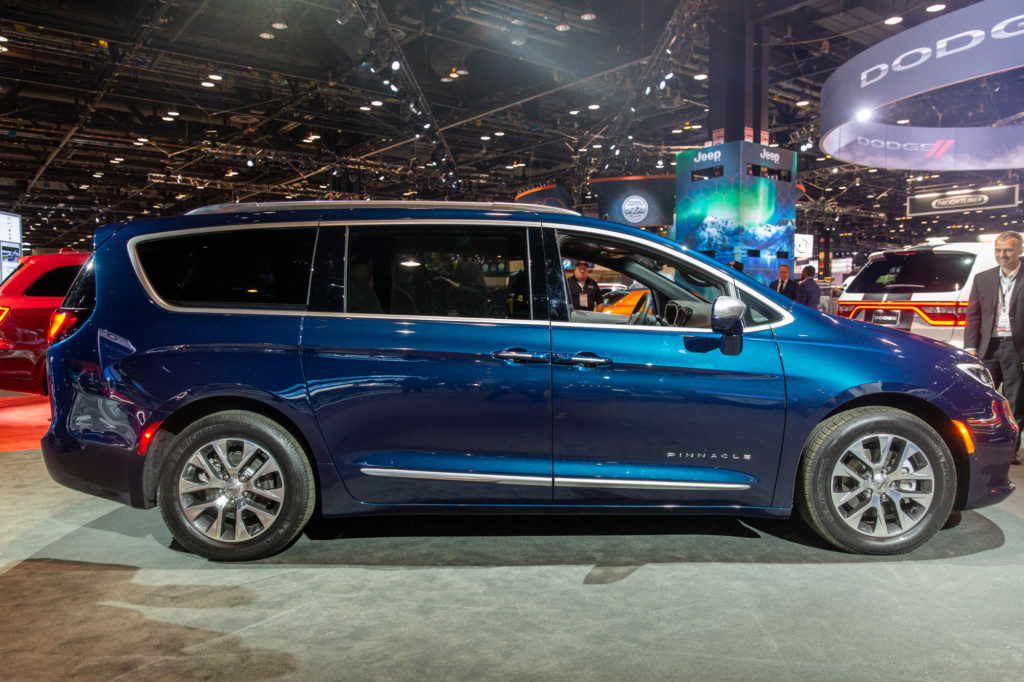 2021 Chrysler Pacifica Arrives With All wheel Drive
