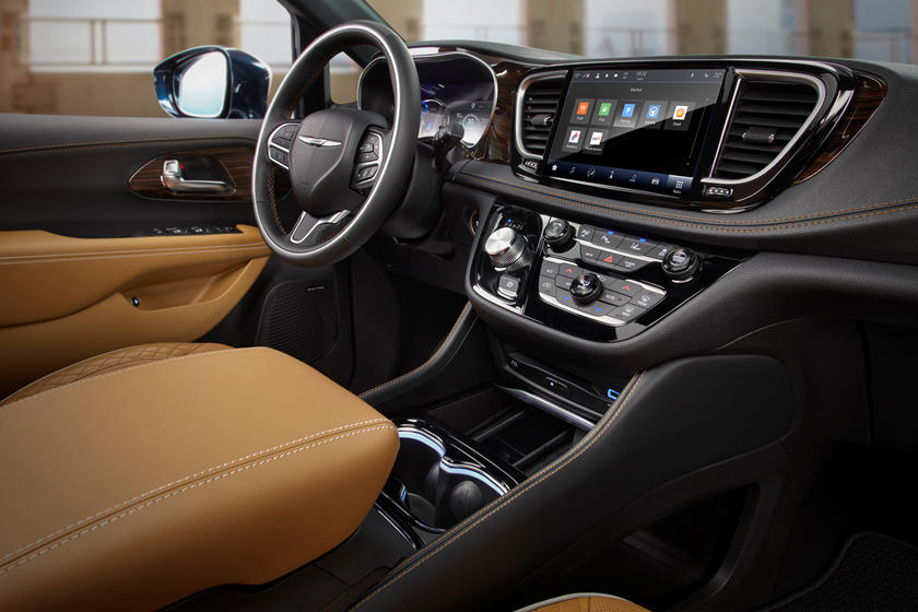 2021 Chrysler Pacifica Interior Photos CarBuzz