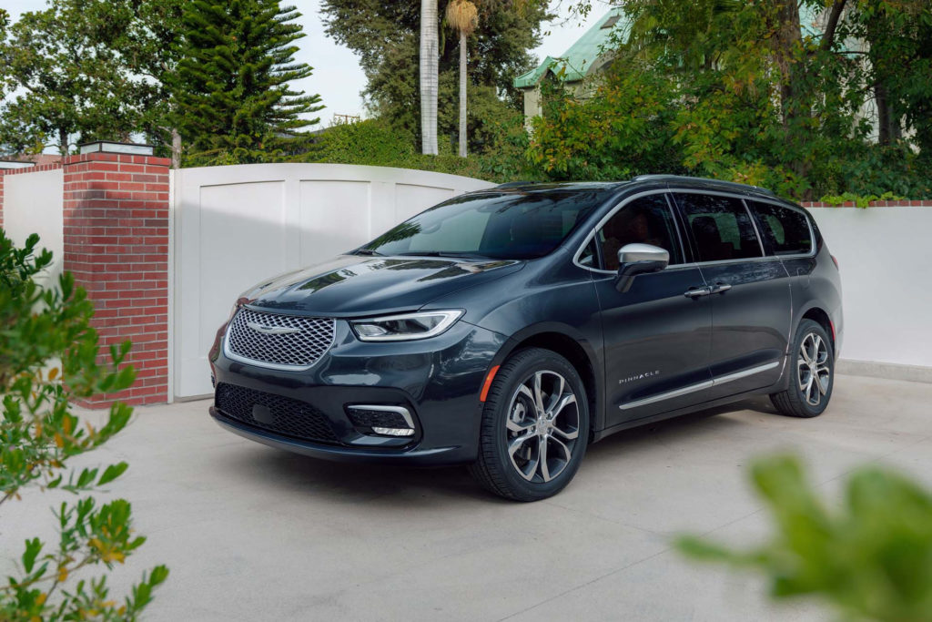 2021 Chrysler Pacifica Auto Informers