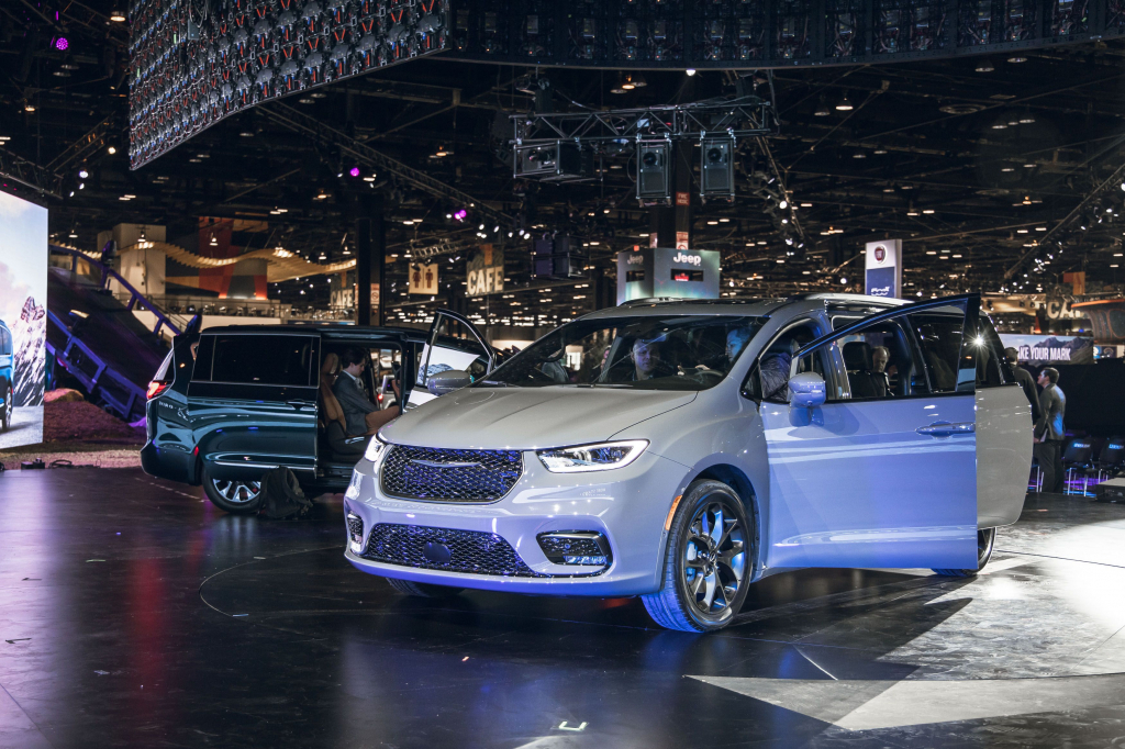 2022 Chrysler Pacifica Exterior US Newest Cars
