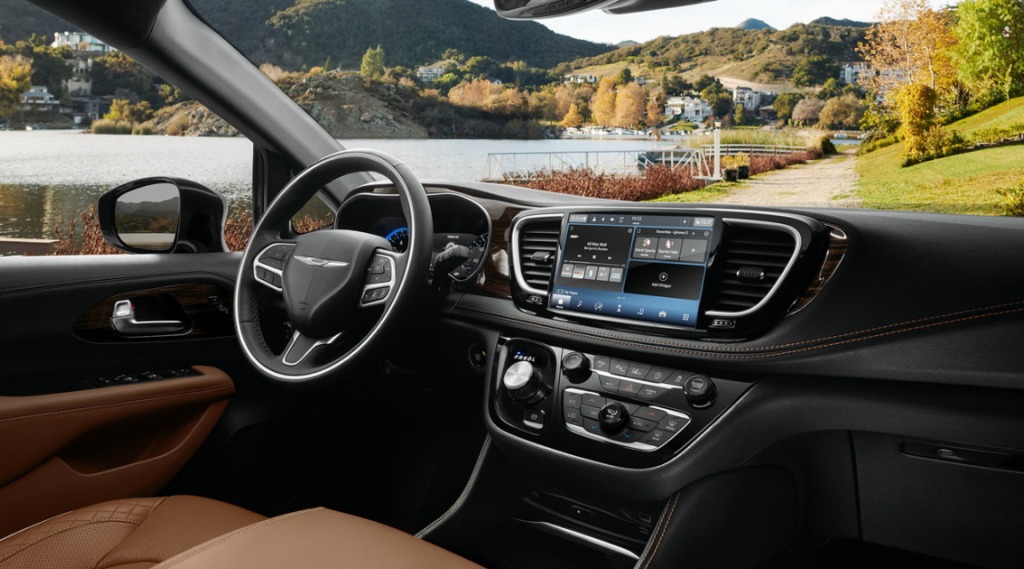 2022 Chrysler Pacifica Price Dimensions Interior