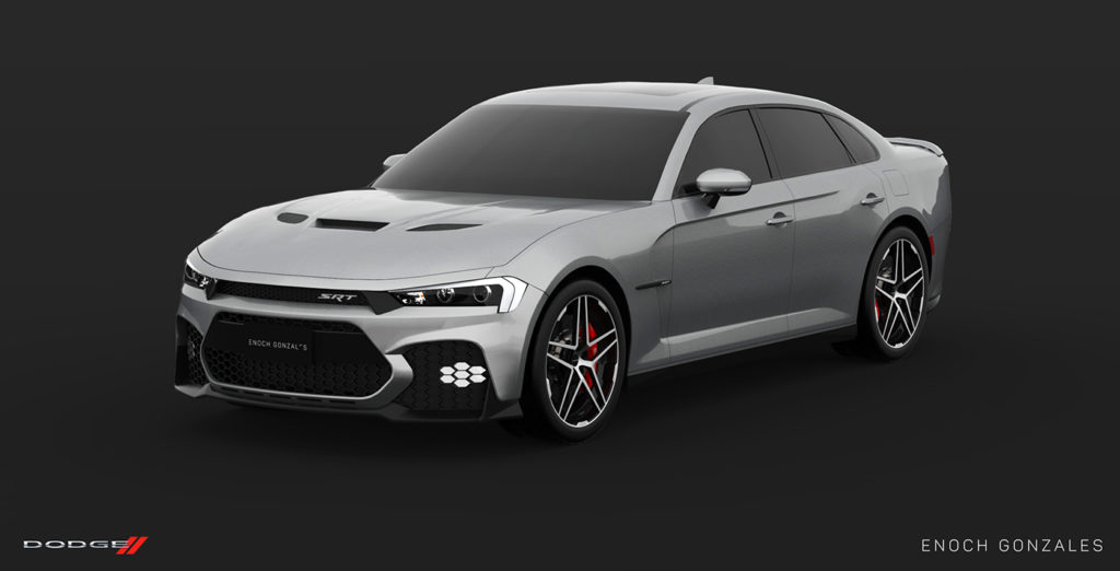 Here s A Take On The Facelifted 2019 Dodge Charger SRT
