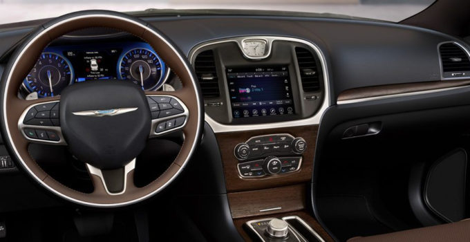 The Steering Wheel Instrument Panel Uconnect Touchscreen
